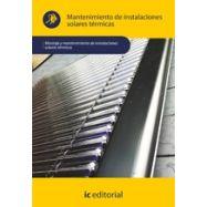 MANTENIMIENTO DE INSTALACIONES SOLERES TERMICAS
