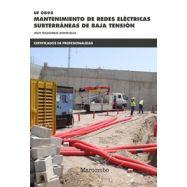 MANTENIMIENTO DE REDES ELECTRICAS SUBTERRANEAS DE BAJA TENSION (UF0895)