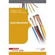 ELECTRICISTAS. TEMARIO. TESTS Y SUPUESTOS PRACTICOS