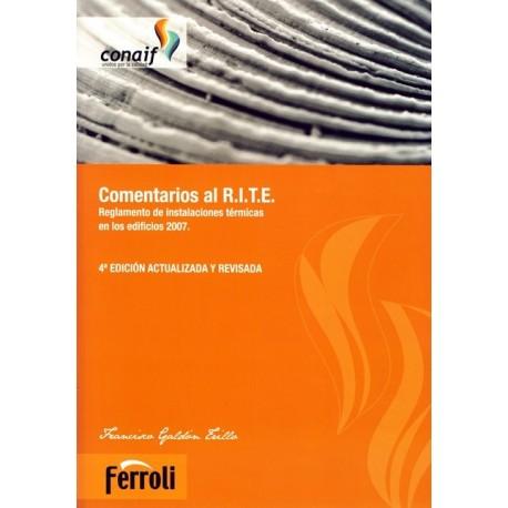 COMENTARIOS AL RITE - 4ª Edición Actualizada y Revisada