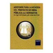 ASISTENTE PARA LA MEMORIA DEL PROYECTO DE OBRA PUBLICA CON NORMATVA