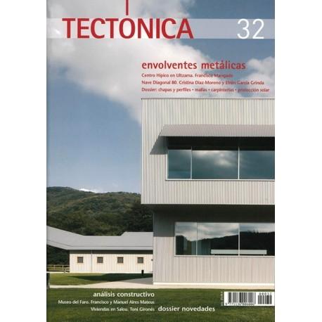 TECTONICA Nº 32 - ENVOLVENTES METALICAS
