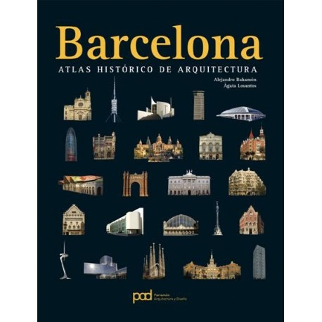 BARCELONA. Atlas Histórico de Arquitectura