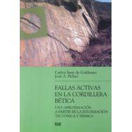 FALLAS ACTIVAS EN LA CORDILLERA  BETICA