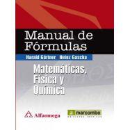 MANUAL DE FOMRULAS: MATEMATICAS, FISICA, QUIMICA