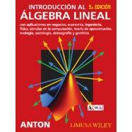 INTRODUCCION AL ALGEBRA LINEAL - 5ª Edición