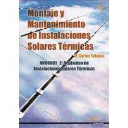 MONTAJES Y MANTENIMIENTO DE INSTALACIONES SOLARES TERMICAS