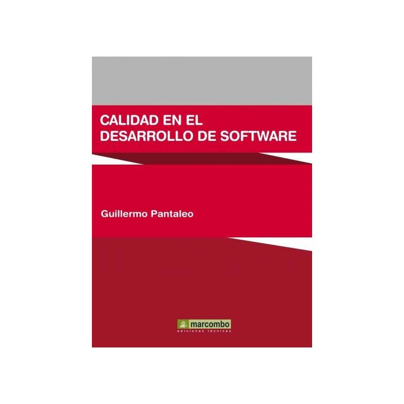 DESCARGAR CALIDAD EN EL DESARROLLO DE SOFTWARE GUILLERMO ...