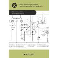 OPERACIONES DE VERIFICACION Y CONTROL DE PRODUCTOS MECANICOS