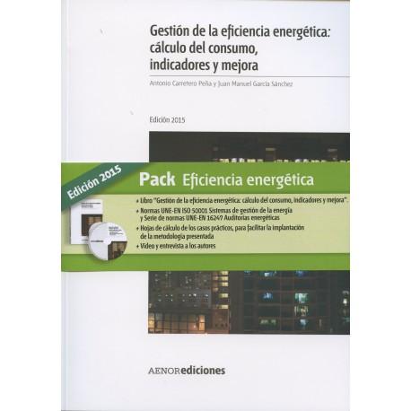PACK EFICIENCIA ENERGETICA (Libro + CD)- Edición 2015