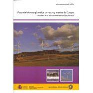 POTENCIAL DE LA ENERGIA EOLICA TERRESTRE MARINA DE EUROPA. Evaluación de las Restricciones Ambientales