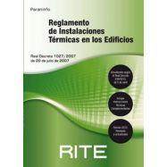 REGLAMENTO DE INSTALACIONES TERMICAS EN LOS EDIFICIOS. RITE 2013 (7ª Edición)