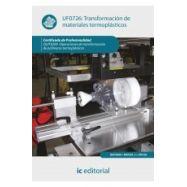 TRANSFORMACION DE MATERIALES TERMOPLASTICOS