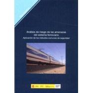 ANALISIS DEL RIESGO DE LAS AMENAZAS DEL SISTEMA FERROVIARIO. APLICACIÓN DE LOS METODOS COMUNES DE SEGURIDAD