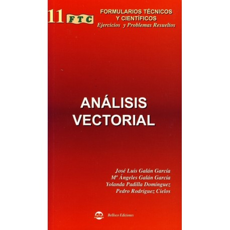 FTC- ANALISIS VECTORIAL