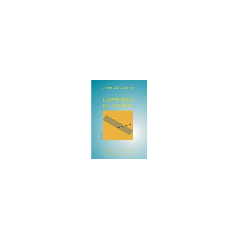 Libro Carpinteria De Madera Libros T Cnicos Online