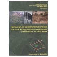 HIDROLOGIA DE CONSERVACION DE AGUA