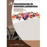 CARACTERIZACION DE MATERIALES POLIMERICOS