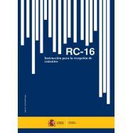 INSTRUCCIÓN PARA LA RECEPCION DE CEMENTOS - RC-16