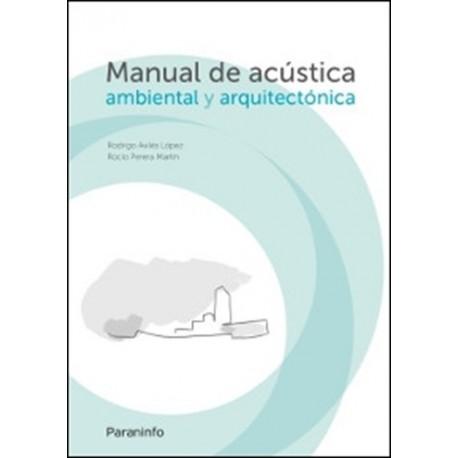 Libro manual de acustica ambiental y arquitectonica isbn for Manual de diseno y construccion de albercas pdf