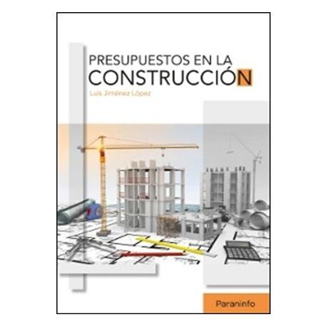 libro presupuestos en la construccion isbn 9788428338035 libros
