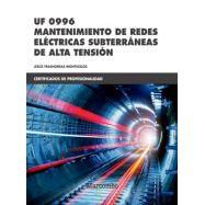 UF 0996 - MANTENIMIENTO DE REDES ELECTRICAS SUBTERRANEAS DE ALTA TENSION