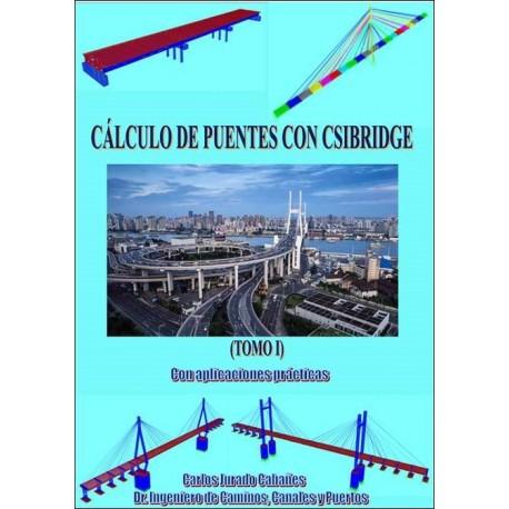 CÁLCULO DE PUENTES CON CSIBRIDGE. Con aplicaciones prácticas Tomo I.