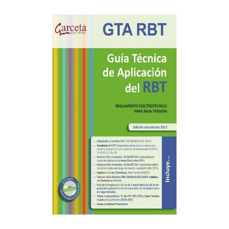 GTA. RBT 6E. GUIA TECNICA DE APLICACION DEL RBT. 6ª Edición