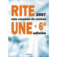 RITE2007+resumen normas UNE 6ª edición