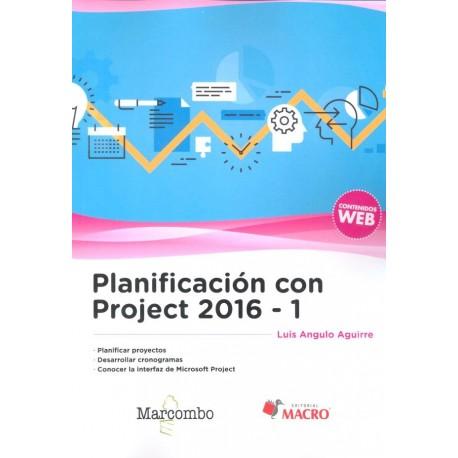 PLANIFICACION CON PROJECT 2016-1