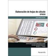 UF-0858. ELABORACION DE HOJAS DE CALCULO