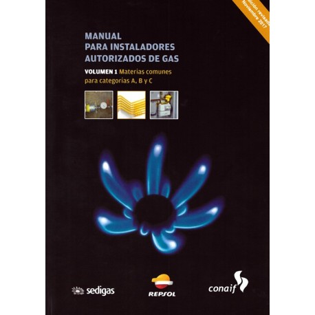 libro manual para instaladores autorizados de gas vol 1