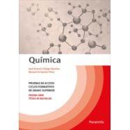 QUIMICA. Pruebas de Acceso a Ciclos Formativos de Ciclo Superior