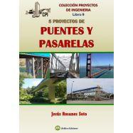CINCO PROYECTOS DE PUENTES Y PASARELAS. Colección Proyectos de Ingeniería libro 9