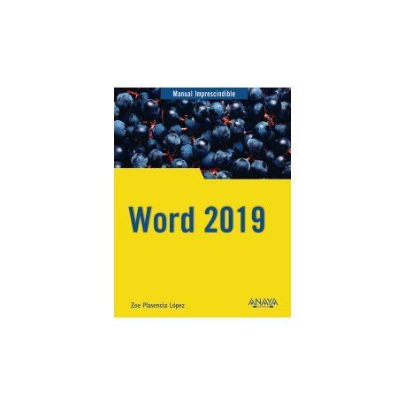 WORD 2019. Manual Imprescindible