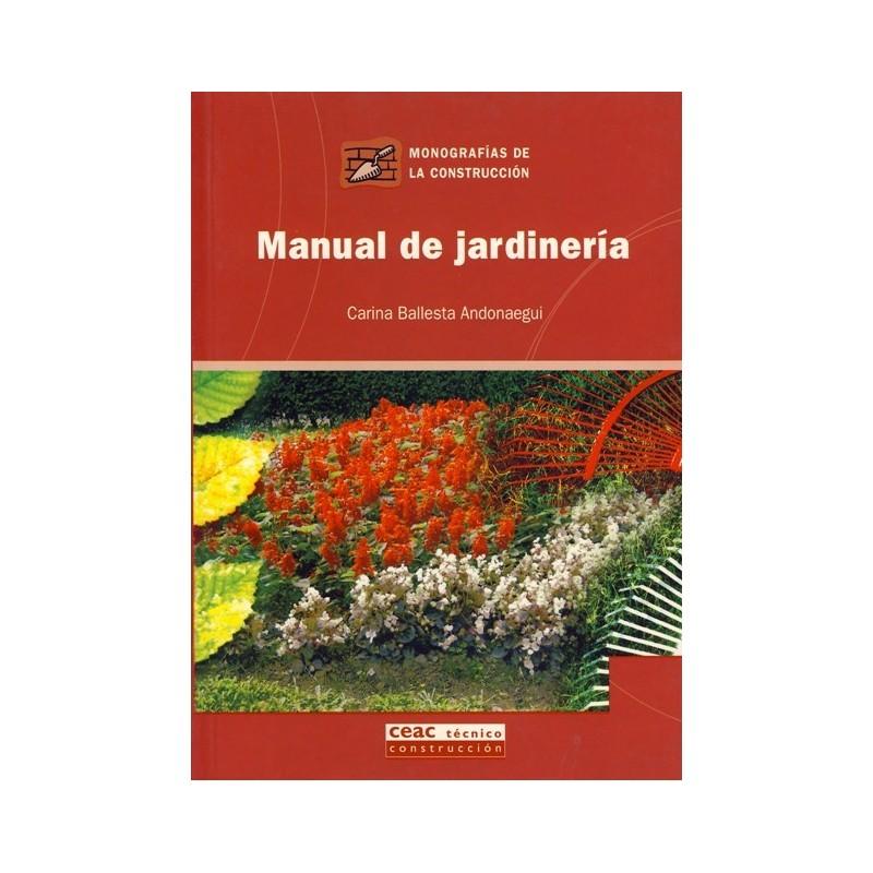 Libro manual de jardineria 37 libros t cnicos online - Utiles de jardineria ...
