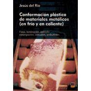 CONFORMACION PLASTICA DE MATERIALES METALICOS ( en frío y caliente)