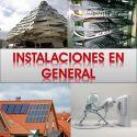 Instalaciones en General: Edificación, Urbanas, Industriales