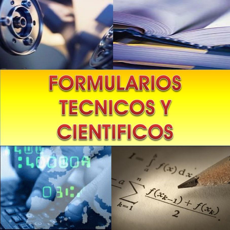 Formularios Técnicos y Científicos
