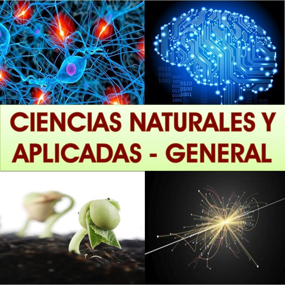 Ciencias Naturales y Aplicadas en General